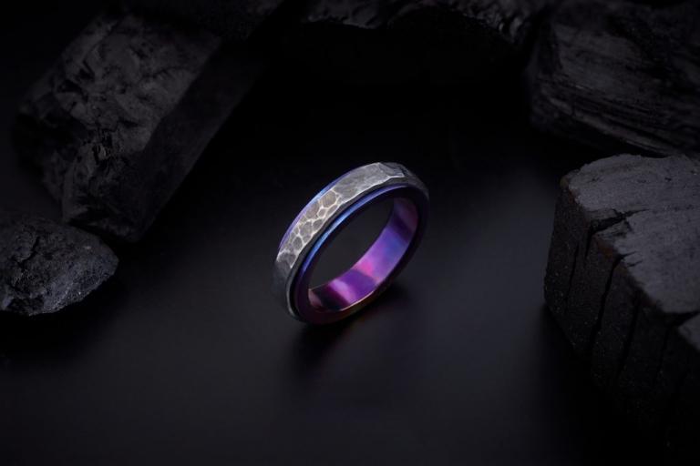 Galacticus Saturn ring Keep The Silence Jewellery Erika Kundavičiūtė