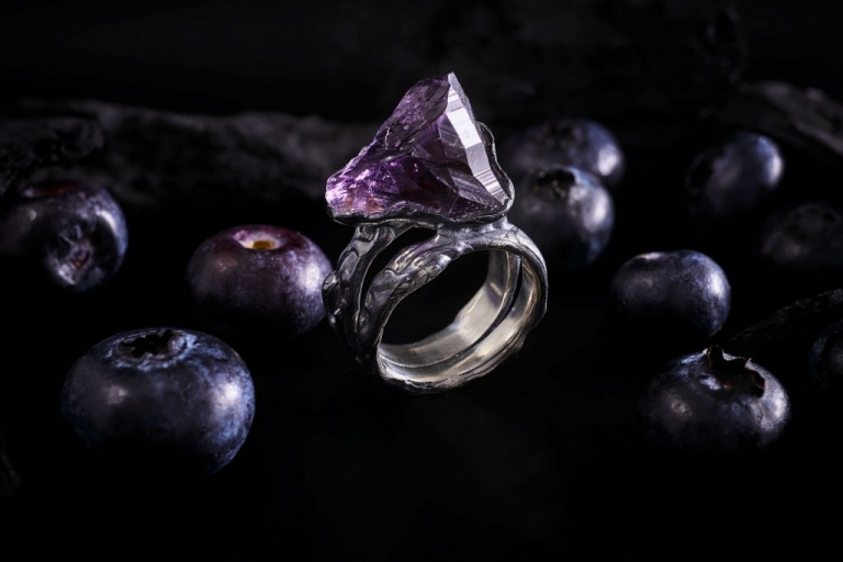 Flower Of Life Keep The Silence Jewellery Ring Erika Kundavičiūtė