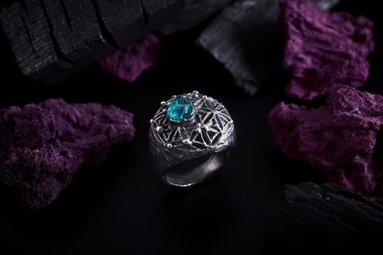 Ancient Flower Of Life Keep The Silence Jewellery Erika Kundavičiūtė