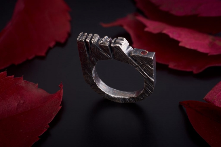 Creator Castle Keep The Silence Jewellery Erika Kundavičiūtė Silver Age Fantasy
