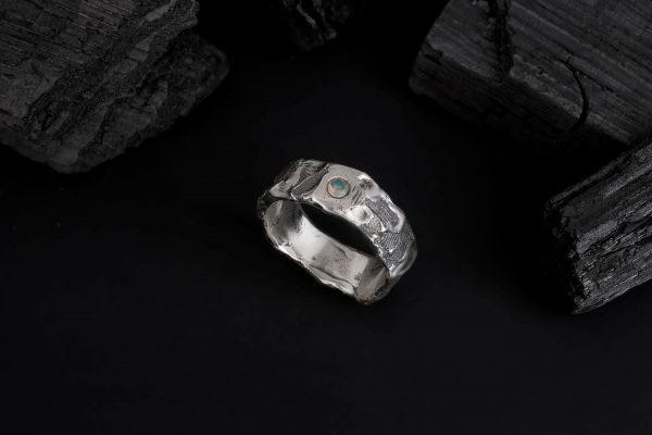 Erika Kundavičiūtė Keep The Silence Jewellery Rough Silver The Creator