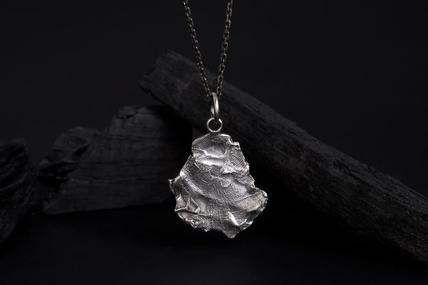 Erika Kundavičiūtė Keep The Silence Jewellery Rough Silver The Creator